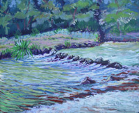 SOLD! © Pam Van Londen 2007 Mary's River 1 Acrylic on canvas on 20 x 16 x 1 canvas