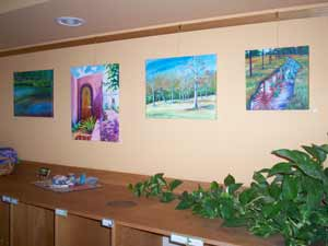 Landscapes, Seascapes, and Cityscapes on display at Corvallis Montessori School