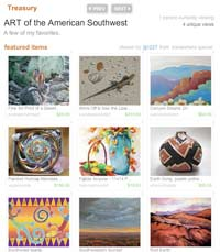 Treasury about Southwest Art