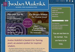 Jwalan Muktika School for Illumination web site redesign