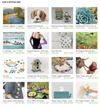 Just a Whimsey Day Etsy Treasury