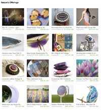 Nature's Offerings Etsy Treasury