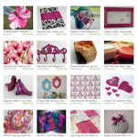 Magenta Mommy Etsy Treasury