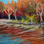 Sedona 3.2 Oak Creek 12x12-inch canvas @ Pam Van Londen 2014