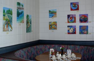 Exhibiting Summer 2009 at Darrell's Restaurant