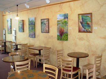 Exhibiting Summer 2009 at Red Horse Cafe