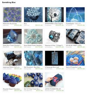 Etsy Something Blue Treasury