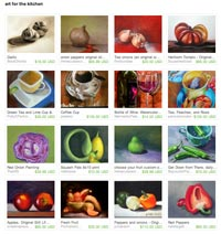 Etsy Art of the Kitchen Treasury