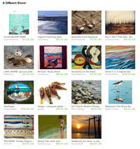 Etsy A Different Shore Treasury