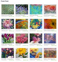 Etsy Flower Power Treasury