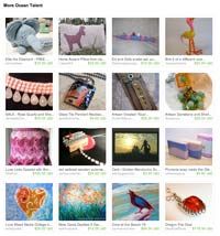Etsy More Ocean Talent Treasury