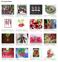 Etsy Humble Radish Treasury