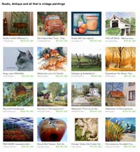 Etsy Rustic Antique Talent Treasury