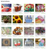 Etsy Spring has Sprung Treasury