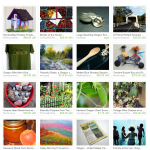 Oregon Vacation Etsy Treasury includes art by Pam Van Londen