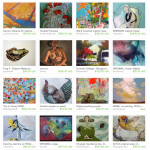 Painters Etsy Treasury includes art by Pam Van Londen