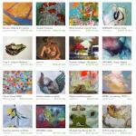 Painters Etsy Treasury includes art by Pam Van Londen