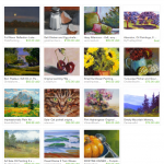 Passion for Paint Etsy Treasury includes art by Pam Van Londen