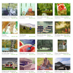 Picnic Day Etsy Treasury includes art by Pam Van Londen