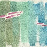 Piller 11 abstract watercolor © Pam Van Londen 2011