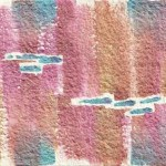 Piller 13 abstract watercolor © Pam Van Londen 2011