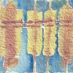 Piller 5 abstract watercolor © Pam Van Londen 2011