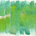 Piller 6 abstract watercolor © Pam Van Londen 2011
