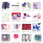 Watercolor World Etsy Treasury includes art by Pam Van Londen