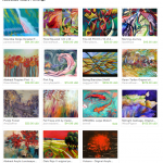 Abstracted Nature Paintings Etys Treasury