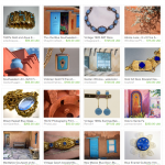 Adobe Blue Etsy Treasury