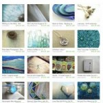 Green and Blue and Now Zen Etsy Treasury