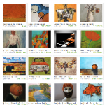 Etsy Shades of Orange Treasury