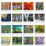 Etsy Trees of the Four Seasons Treasury