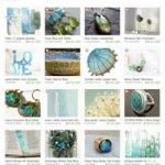 Etsy Aqua Treasury