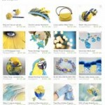 Etsy Blue Yellow Treasury