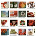 Etsy Fire Poppy Treasury