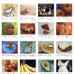 Etsy Paintings for the Kitchen Treasury