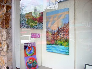 December 2011 Etsy Window Exhibit