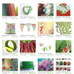 Colorful Gardening Etsy Treasury