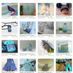 February Blues Etsy Treasury