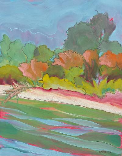 © 2013 Pam Van Londen. Willamette River 31.