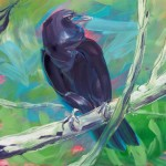 Crow in the Tree 1