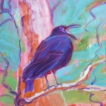 Crow in the Tree 3